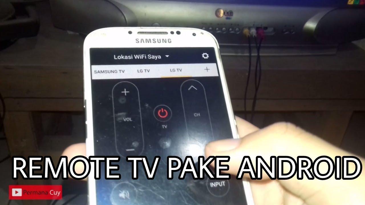 Hp Android Jadi Remote Tv Serbaguna Youtube
