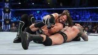 randy orton vs aj styles full match wwe smackdown 7 march 2017