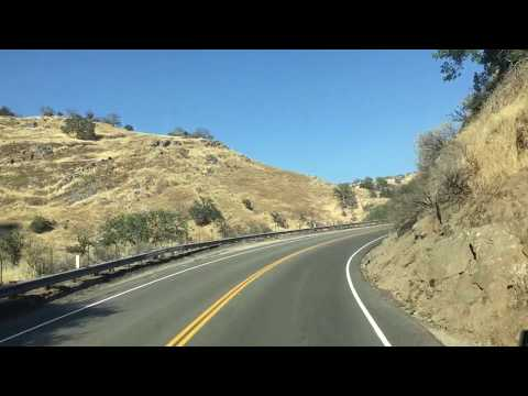 Up Hill Road Of Reedley California 2