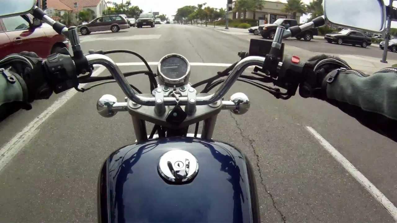 Riding my Suzuki gz250 Testing my GoPro Camera - YouTube