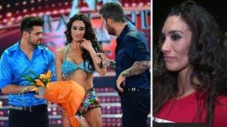 Entre lágrimas, Flor Marcasoli le tiró un palito al jurado luego de ser eliminada del Bailando