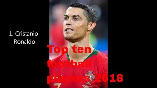 Top ten football players 2018 II FOOTBALL II MESSI II WORLD CUP II BY LUCKNOWI NAWAB