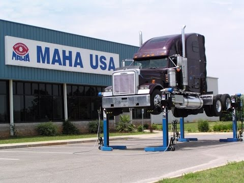Maha Mobile Column Truck Lift System