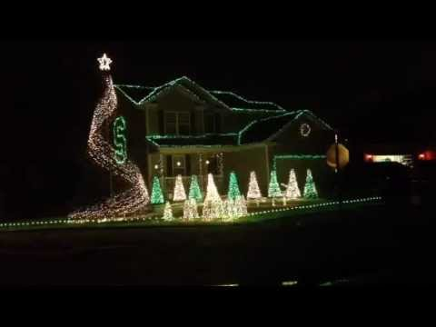 MSU fight song in Christmas lights! - MSU Fight Song In Christmas Lights! - YouTube
