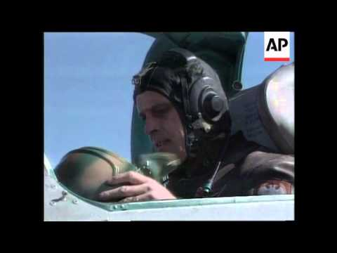 KOSOVO: PRISTINA: SERB AIR FORCE ON STANDBY