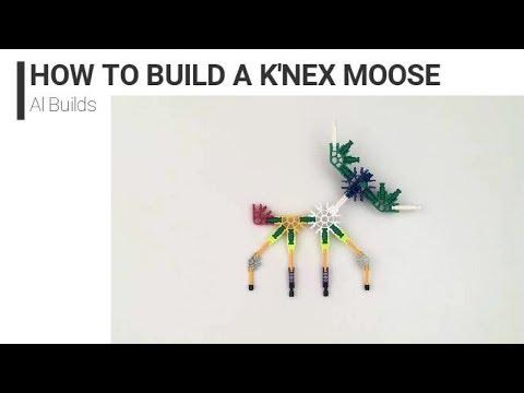 K'nex - How to build a Moose | Al Builds