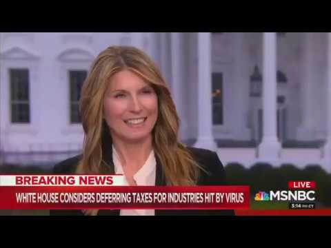 Smiling Nicolle Wallace And Eddie Glaude Jr. Discuss Coronavirus That Could Become 'Trump's Katrina'