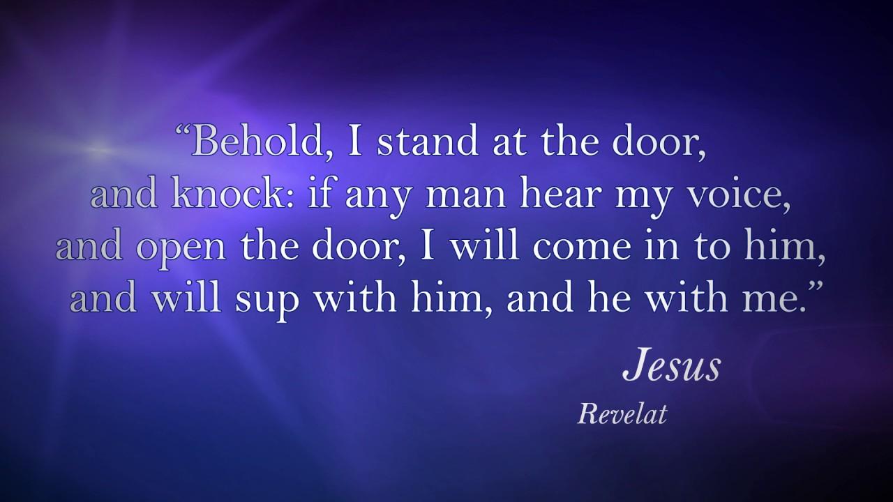 famous bible quotes verses jesus revelation 3 20 youtube