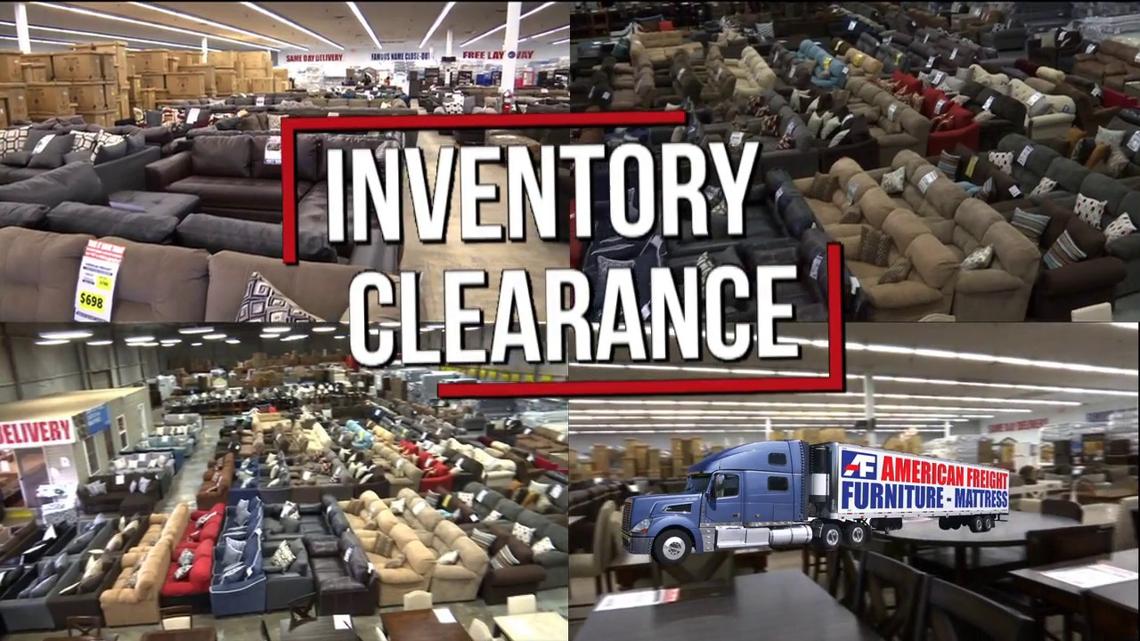 May Inventory Clearance | American Freight Furniture And Mattress