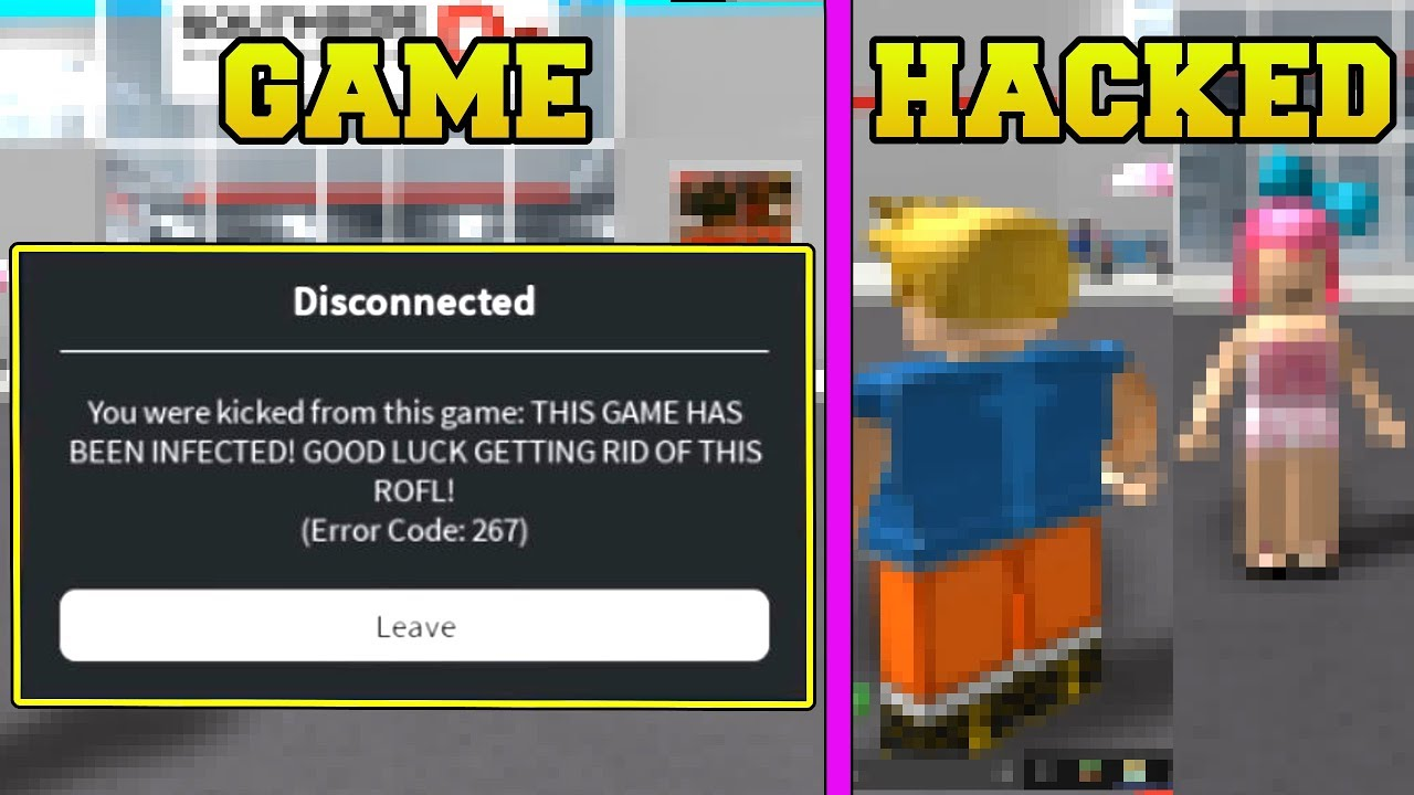 Our Game Got Hacked In Roblox Youtube
