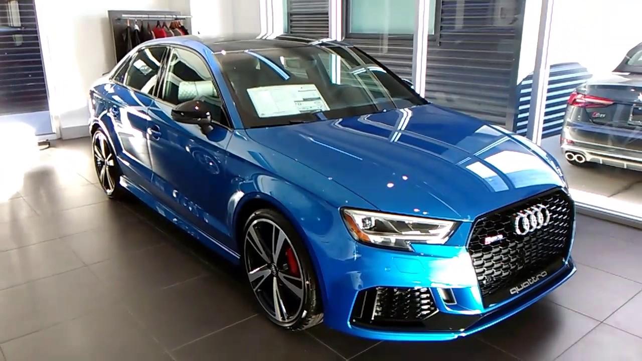 Audi RS3 2018 400 Horsepower 354 pounds of Torque, Part 3 ...