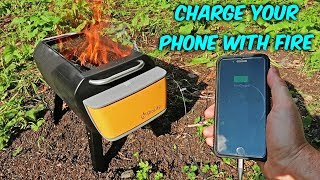 Charge Your Phone with Fire!