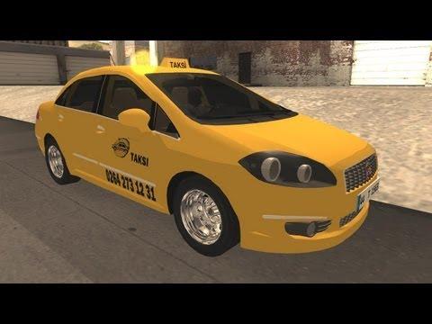 Fiat Linea такси