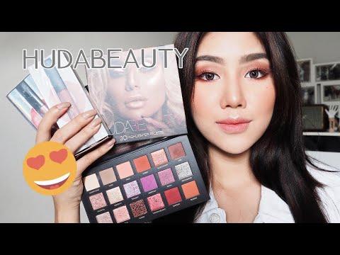 Review: เมคอัพแบรนด์ Huda beauty ดีจริงมั้ย? เข้าไทยแล้ว? - วันที่ 11 Sep 2018
