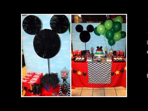 Mickey mouse clubhouse party decorating ideas YouTube
