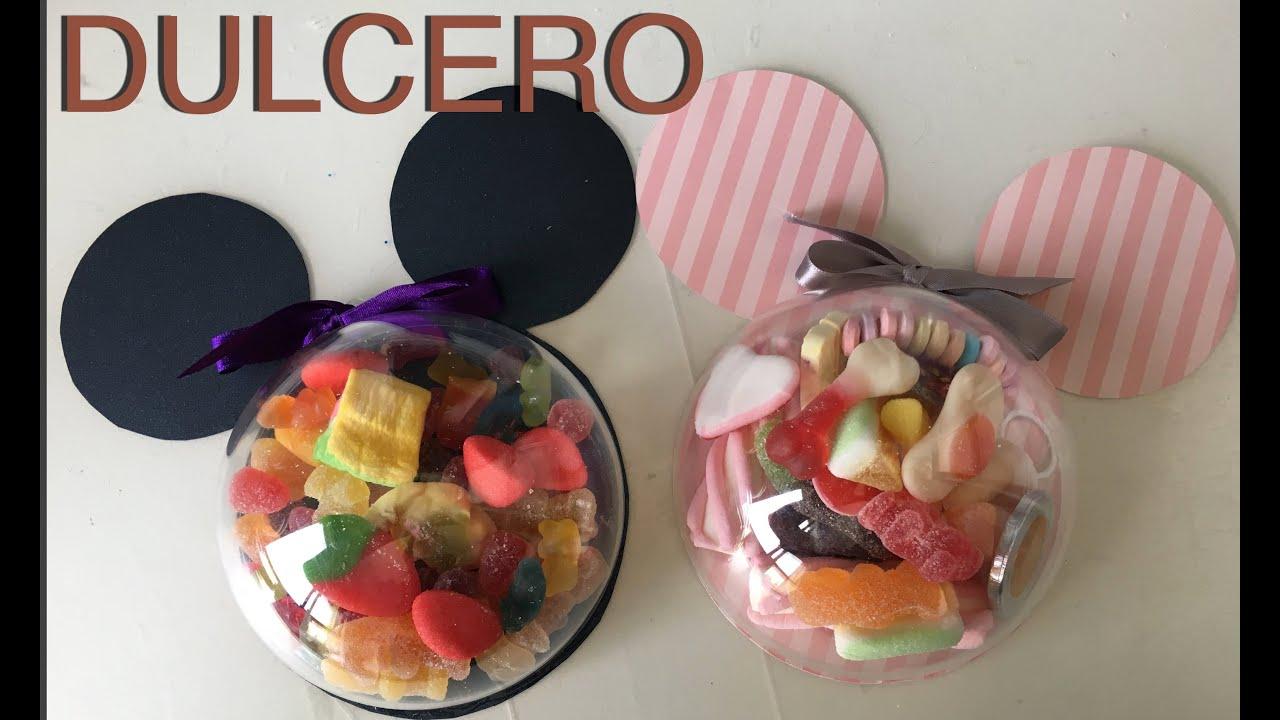 Crea tu dulcero para fiestas de mickey y minnie mouse - Mesas para ninos de plastico ...