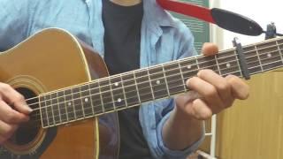 124-3961 心の旅 チューリップ 吉田栄作 ギター弾語り 簡単アレンジ チ...