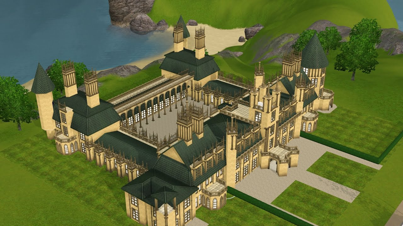 the sims 3 oversized chateau youtube