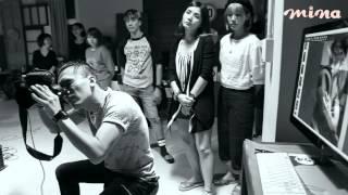mina雜誌獨家拍攝★Bii畢書盡★封面人物-側錄花絮1分鐘短版