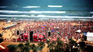 Coca-Cola Beach - Spring Break 2011 - South Padre, TX - Time Lapse