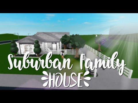 Bloxburg: Suburban Family House 50k - YouTube