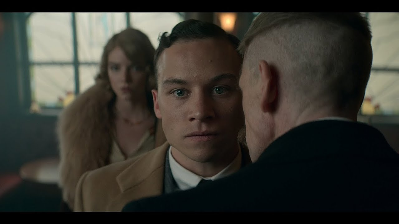 Download Conversation of Michael and Tommy | S05E02 | Peaky Blinders.