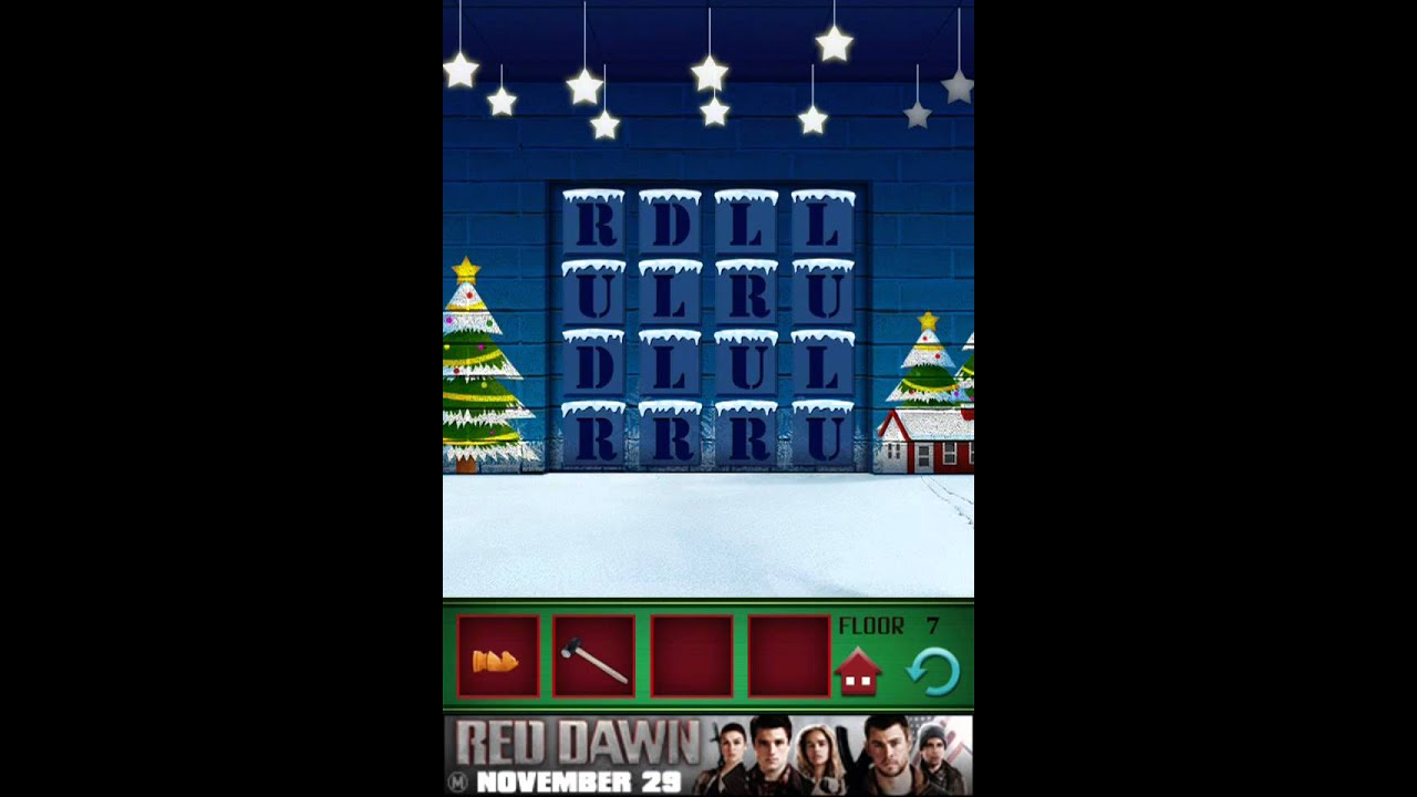 100 Floors Christmas Tower Level 2 100 Floors Seasons