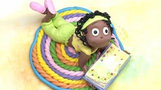 Polymer clay Doll Tutorial- Passo a passo boneca em Fimo