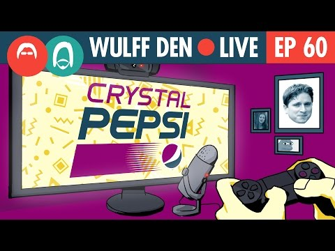 Crystal Pepsi and the Ethics of 24 Hour Streaming - Wulff Den Live EP 60