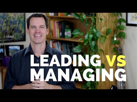 Management Skills Vs Leadership Skills