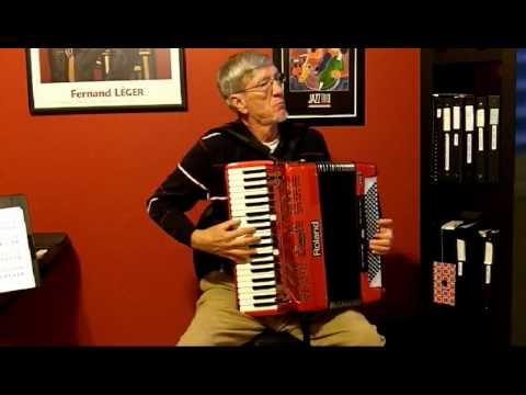 """What a Wonderful World"" Accordion Solo, Roland FR-7"