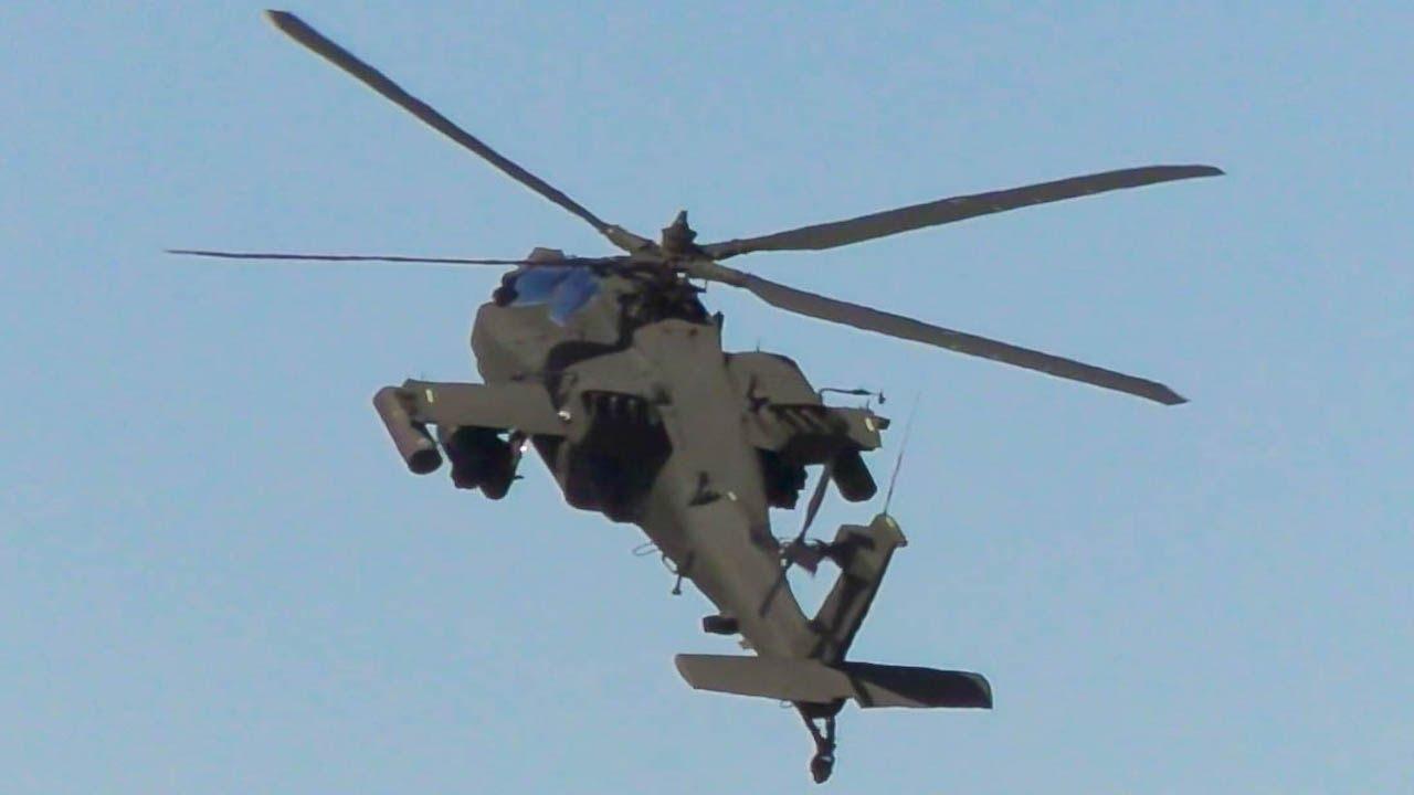 Boeing AH-64 Apache ATTACK Hel...