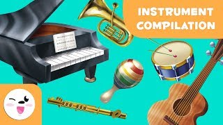 Learning Music - Wind, String, Percussion Instruments for Kids