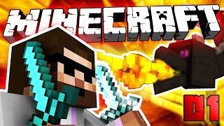 PORAZÍM DRAKA? | Minecraft Hardcore #01