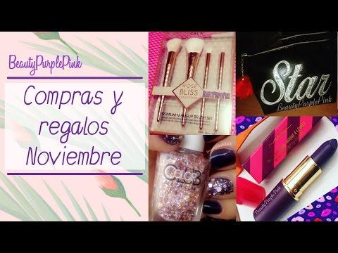 Beauty Compras y Regalos Noviembre 2016