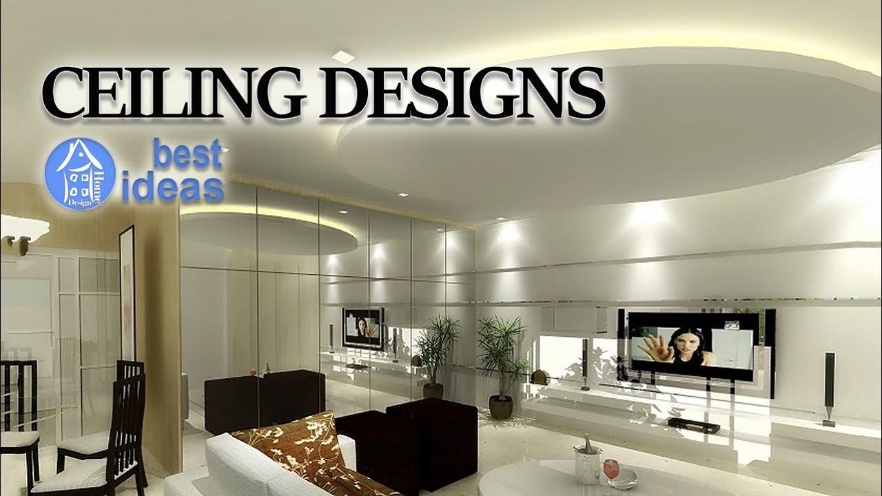 Gypsum Ceiling Designs Beautiful False Ceiling Ideas For Home Youtube
