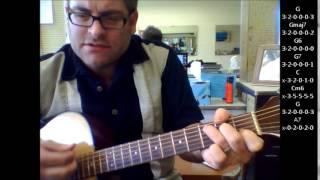 "How to play ""La Vie En Rose"" by Edith Piaf on acoustic guitar"