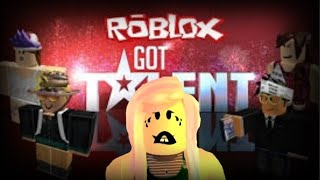 THEY BUZZED ME!!!! -Roblox Got Talent-