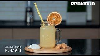 Бодрящий сок из дыни с имбирем в соковыжималке REDMOND RJ-M911