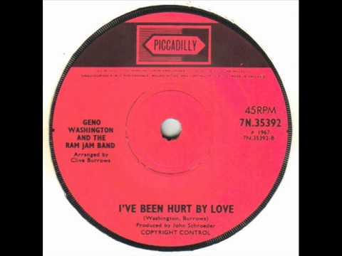 Geno Washington & The Ram Jam Band - I've Been Hurt By Love.wmv