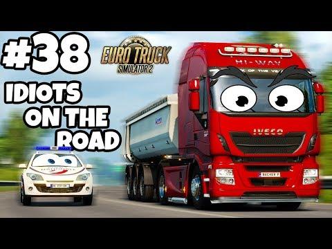 Euro Truck Simulator 2 Multiplayer: IDIOTS on the Road | Random & Funny Moments | #38