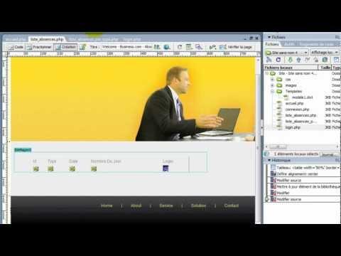 Créer un site web en PHP avec MySQL