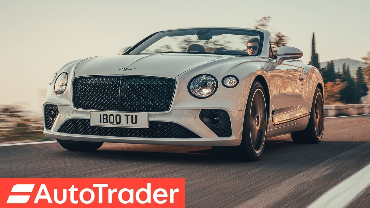 first look 2019 bentley continental gt convertible - youtube