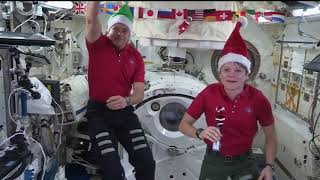In Space for the Holidays With an Elf on the Shelf