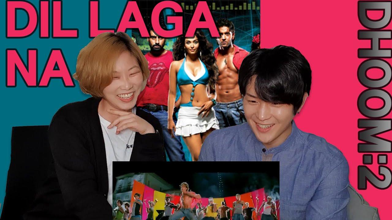 Koreans React to 'DIL LAGA NA' | Dhoom 2 | Hrithik Roshan x Aishwarya Rai