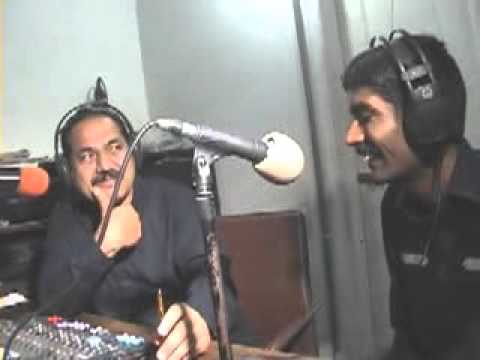 Comedian Asghar Khoso interview on Hot FM105 larkana part 1