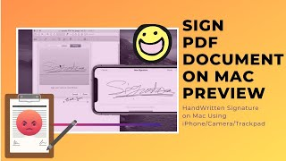 Download lagu How to Sign PDF Document On Mac Preview Using iPhone Camera or Trackpad New macOS Catalina MP3