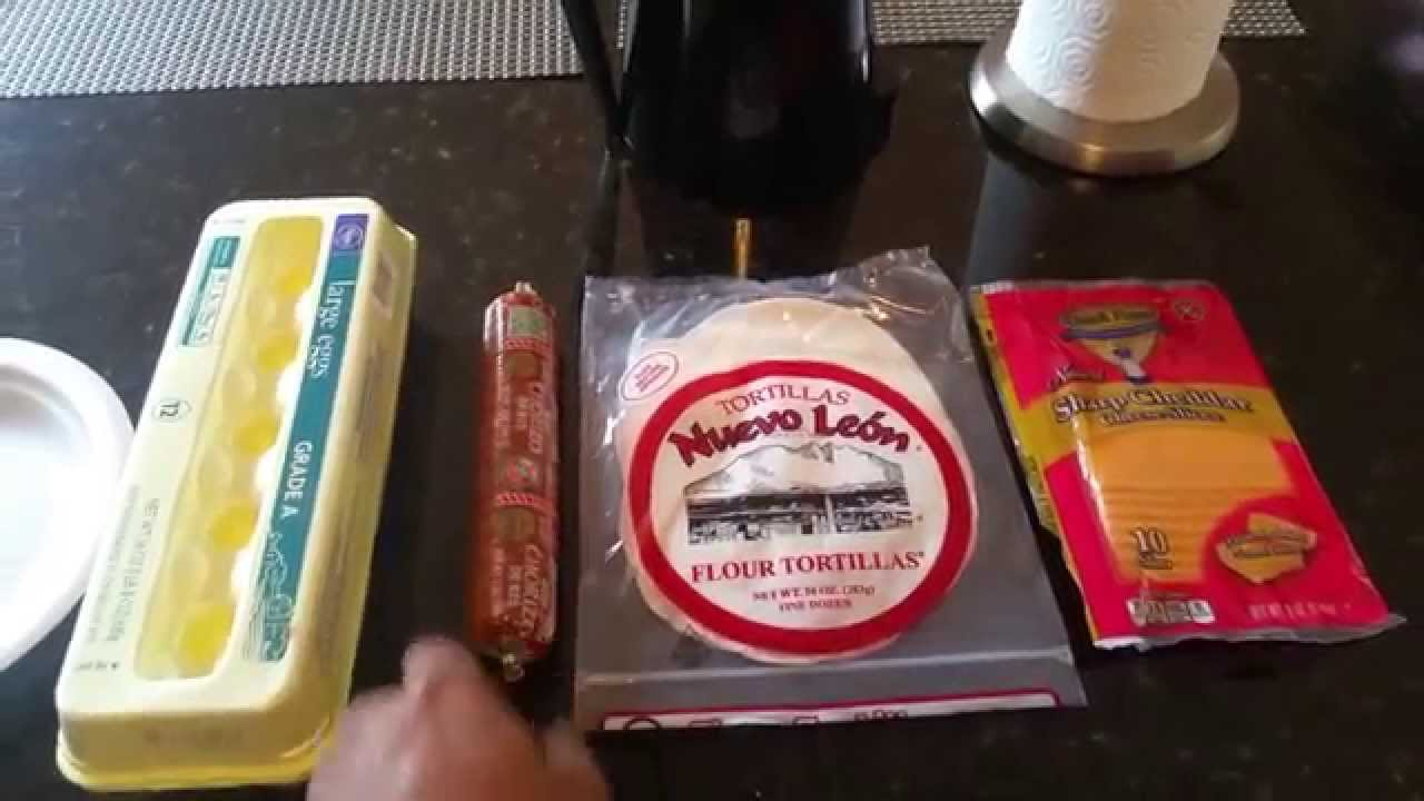 How To Make Chorizo And Eggs Breakfast Tacos