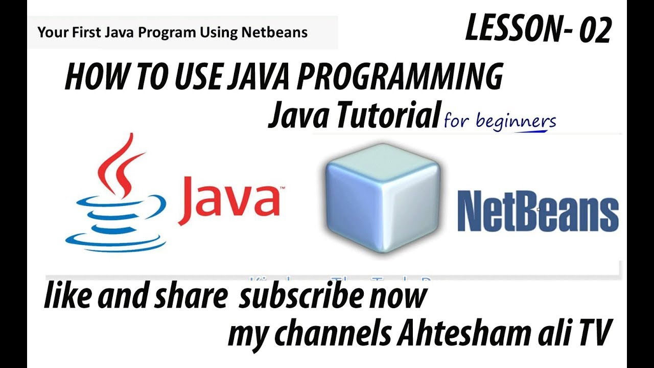 Netbeans java tutorial for beginners choice image any tutorial java pro tutorial beginners test code logical operators in java java pro tutorial beginners test code baditri Gallery