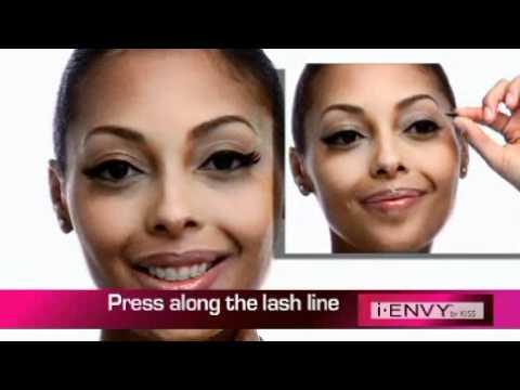 """i-ENVY Eyelashes """"Applying the Vegas Strip Lash"""""""